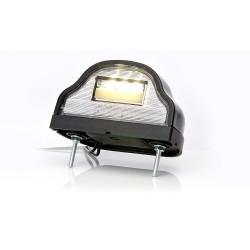 Osvětlení SPZ (registrační značky) LED WAS W88 (12-24V), zaoblené