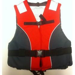 Plovací vesta 50N standard, červeno - šedá