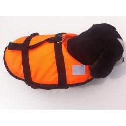 Plovací vesta pro psa - signální oranžová