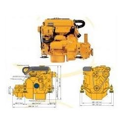Motor M2.D5 VETUS 13 HP