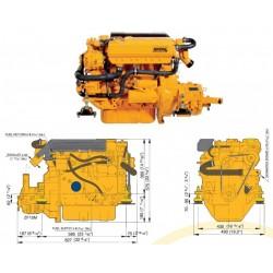 Motor M4.15 VETUS 33 HP
