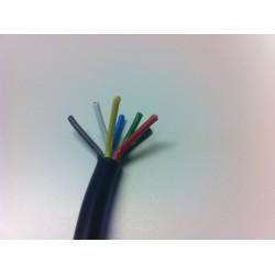 Kabel 7 x 1 mm sedmibarevný
