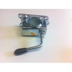 Držák /klema/ opěrného kolečka 48 mm KLE 48-G, litina