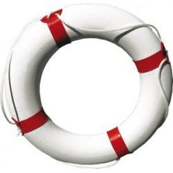 Kruh záchranný bílo modrý