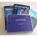 Knihy a lodní deníky
