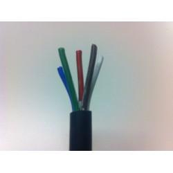 Kabel 5 x 0,75 mm