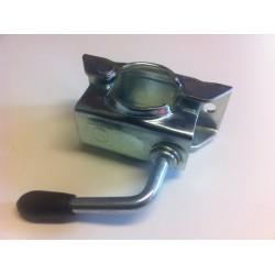 Držák /klema/ opěrného kolečka 48 mm KLE 48, plech