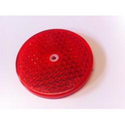 Odrazka průměr 76mm, kulatá, červená