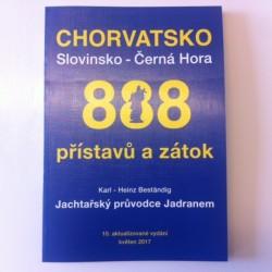 Atlas 888 přístavů a zátok Chorvatsko a Černá Hora