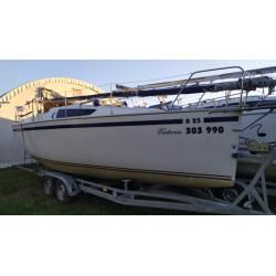 Janmor 25, Yamaha 8, gumový člun, přívěs