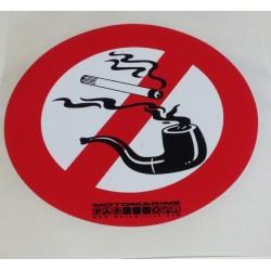 """Samolepka """"Zákaz kouření"""""""