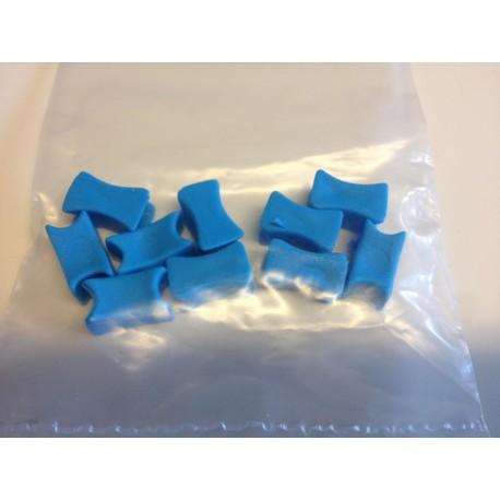 Plastová značka na kotevní řetěz - modrá