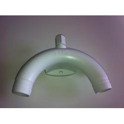 Ventil vakuový k WC, průměr 25mm