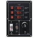 Tlačítkové panely, vypínače